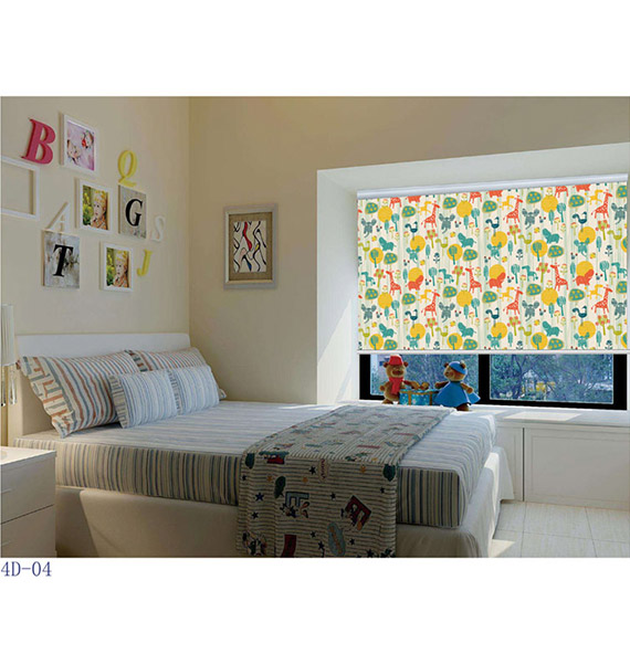 Printing Translcuent Roller Blinds