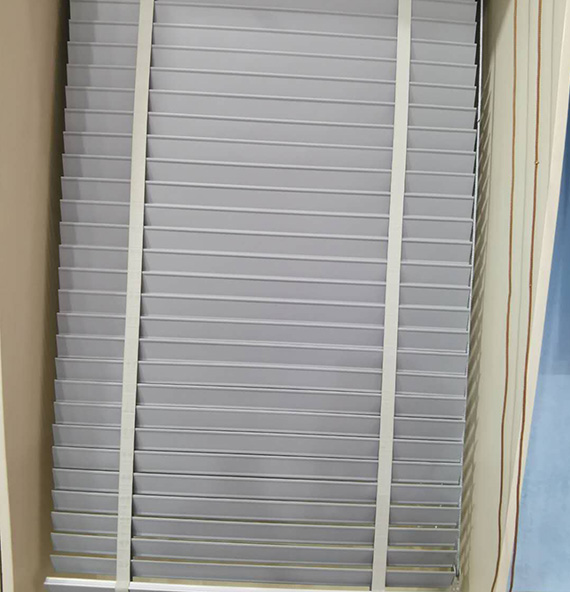 Fabric Venetian Blinds